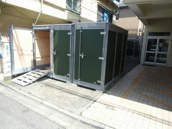 スペースプラスバイクコンテナ北新宿